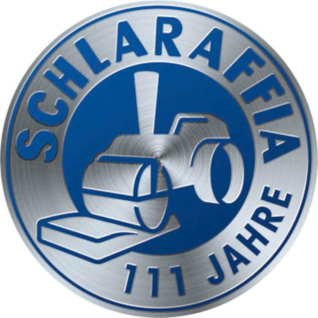 Schlaraffia Boxspringbett »Saga«, inkl. GELTEX®-Topper, Fuß in Schwebeoptik