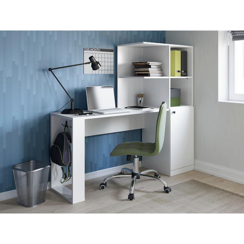 Schreibtisch »Kian«, 2 Metallhaken
