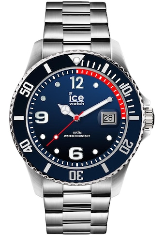 ice-watch Quarzuhr »Ice steel - Marine Silver - Large, 015775« kaufen