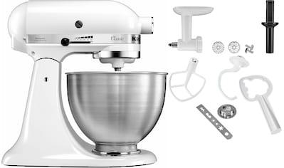 KitchenAid Küchenmaschine »Classic 5K45SS EWH«, inkl. Zubehör im Wert von ca. 112,-€ UVP kaufen