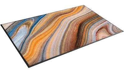 Teppich, »Granito«, wash+dry by Kleen - Tex, rechteckig, Höhe 7 mm, gedruckt kaufen