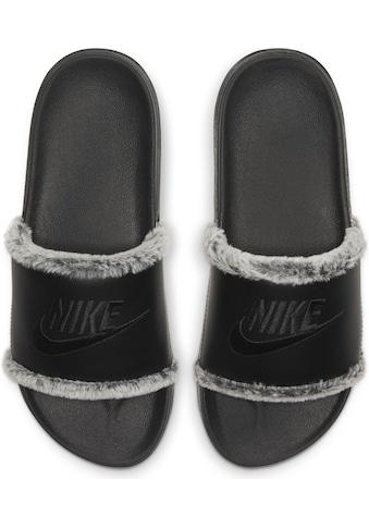 Nike Sportswear Badesandale »OFFCOURT LEATHER SLIDE« kaufen