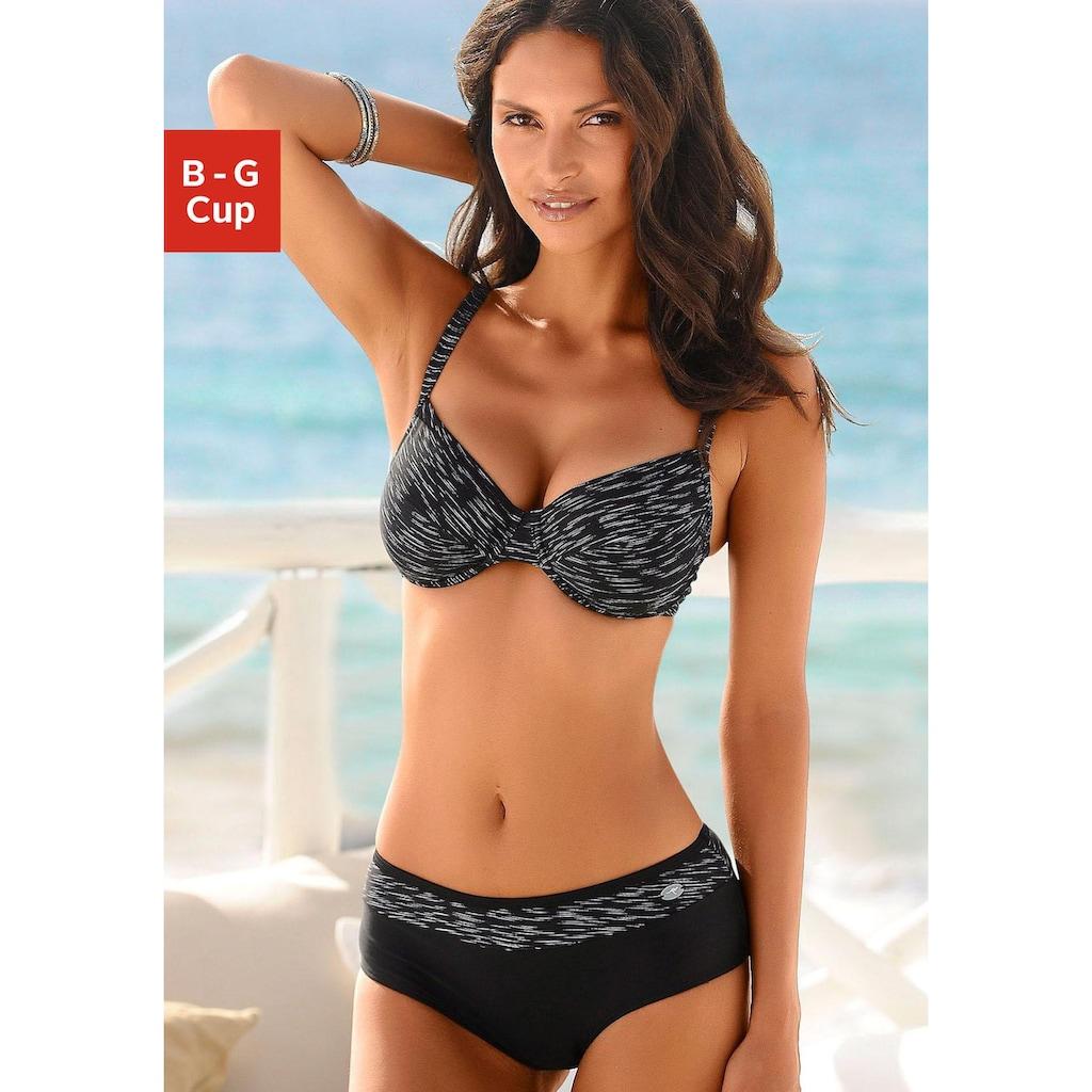 KangaROOS Bügel-Bikini, mit höher geschnittener Hose