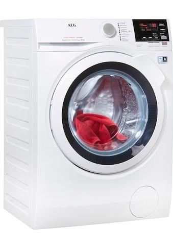 AEG Waschtrockner »L7WB58WT«, mit DualSense für schonende Pflege, 4 Jahre... kaufen