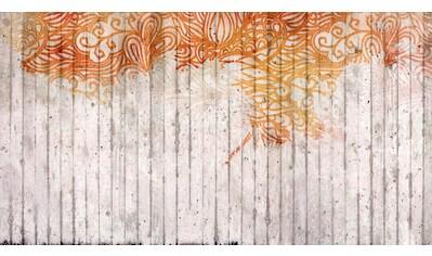 ARCHITECTS PAPER Fototapete »Atelier 47 Concrete Ornament 2«, in 3D - Betonoptik kaufen