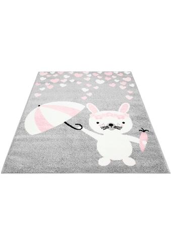 Kinderteppich, »Bubble Kids 1318«, Carpet City, rechteckig, Höhe 11 mm, maschinell gewebt kaufen