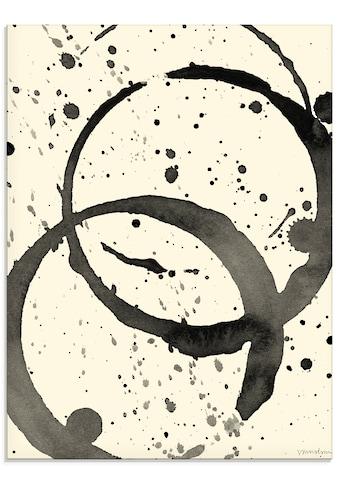 Artland Glasbild »Farbränder III«, Muster, (1 St.) kaufen