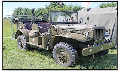 Papermoon Infrarotheizung »Vintage Militär Jeep«, sehr angenehme Strahlungswärme kaufen