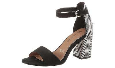Tamaris Sandalette, mit Kontrast-Muster kaufen