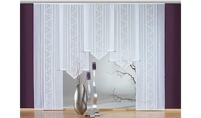 Schiebegardine, »Flora - Spitz«, VHG, Klettband 1 Stück kaufen
