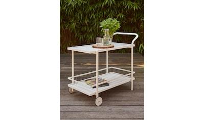 Siena Garden Servierwagen »Bali«, Aluminium, 98x57 cm kaufen