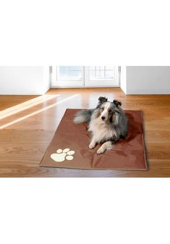 dobar Hundematte »Pfote«, Kühlmatte für Hunde, selbstkühlend, BxL: 70x100 cm kaufen