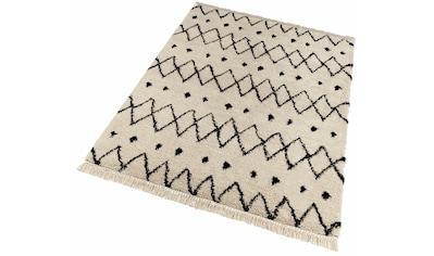 freundin Home Collection Hochflor-Teppich »Calla«, rechteckig, 35 mm Höhe, mit... kaufen