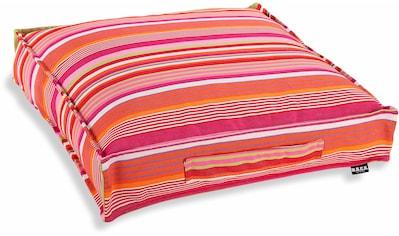 H.O.C.K. Sitzkissen »Yucatan Stripes«, mit Streifenmuster kaufen