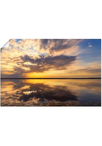 Artland Wandbild »Abendstimmung«, Bilder vom Sonnenuntergang & -aufgang, (1 St.), in... kaufen