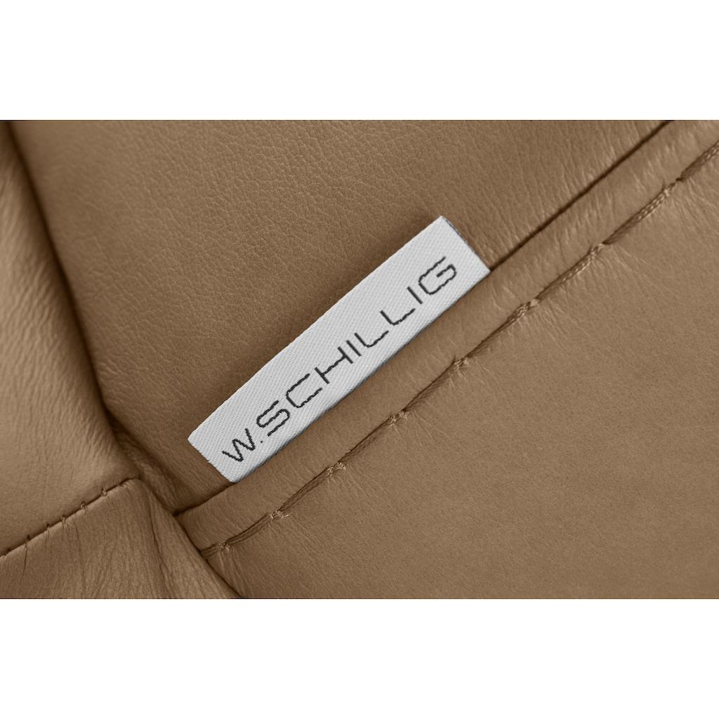 W.SCHILLIG 2-Sitzer »montanaa«, mit Metallkufen in Chrom glänzend, Breite 192 cm