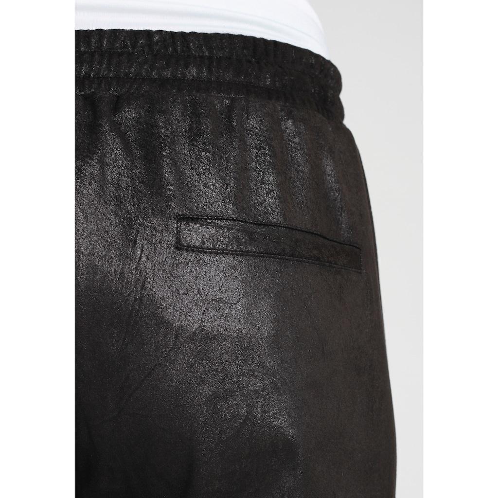 GANG Jogger Pants »GIOVANNA JOGGING«, mit leicht glänzender Optik