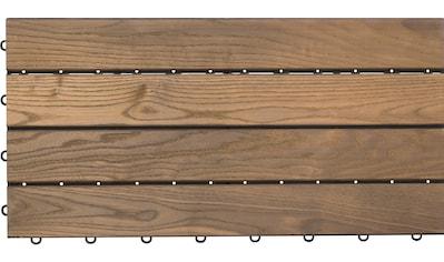 florco® Terrassenplatten »XL«, Klickfliesen kaufen