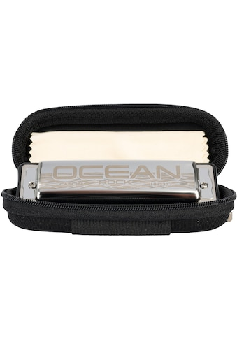 Cascha Mundharmonika »Ocean Rock Blues in C-Dur, schwarz«, inkl. Soft Case und Pflegetuch kaufen