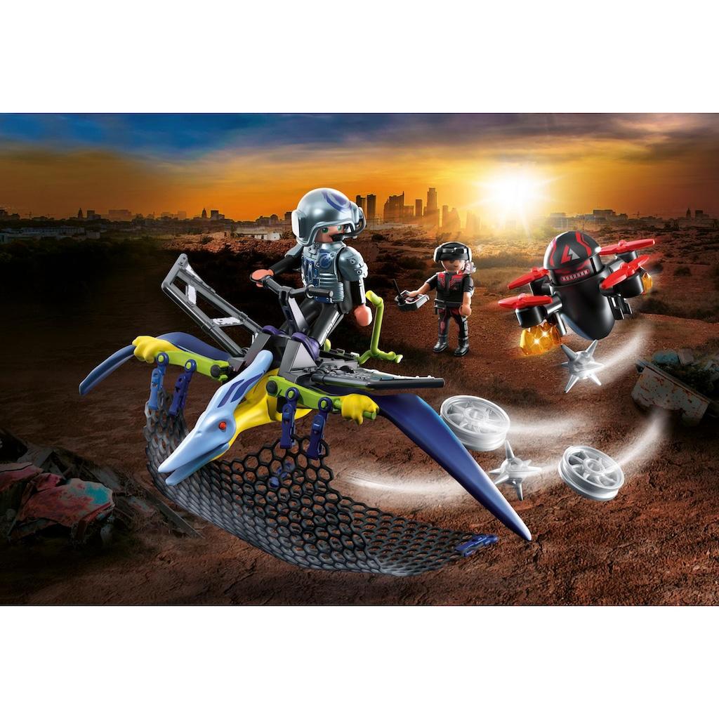 Playmobil® Konstruktions-Spielset »Pteranodon - Verteidigung gegen die Drohne (70628), Dino Rise«, (50 St.), Made in Europe