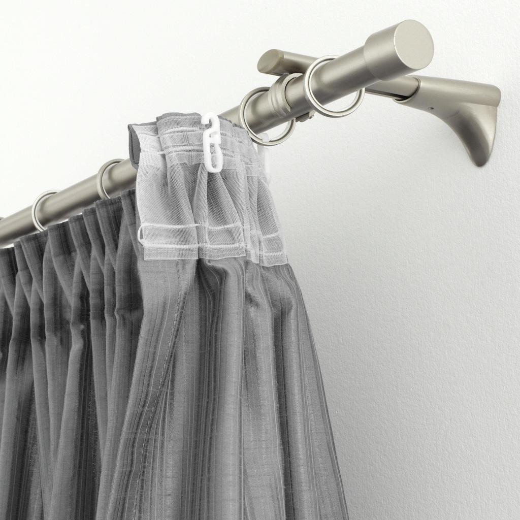 GARDINIA Faltenlegehaken »»Faltenlegehaken POM-Qualität««, Einzelprogramm Chicago 20 mm