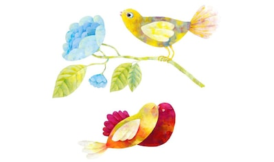 Wall-Art Wandtattoo »Märchenhaft Vögel im Wald« kaufen