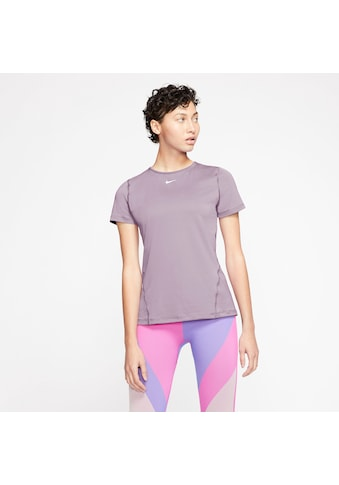Nike Funktionsshirt »WOMEN NIKE PERFORMANCE TOP SHORTSLEEVE ALL OVER MESH«, DRI-FIT... kaufen