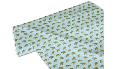 my home Stoff »Meeresschildkröten«, Meterware, Breite 140cm kaufen