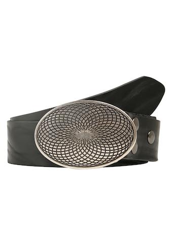RETTUNGSRING by showroom 019° Ledergürtel, mit filigranem Schließedesign kaufen
