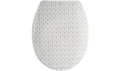 MSV WC-Sitz »Mozaïk«, Duroplast, mit Softclose kaufen