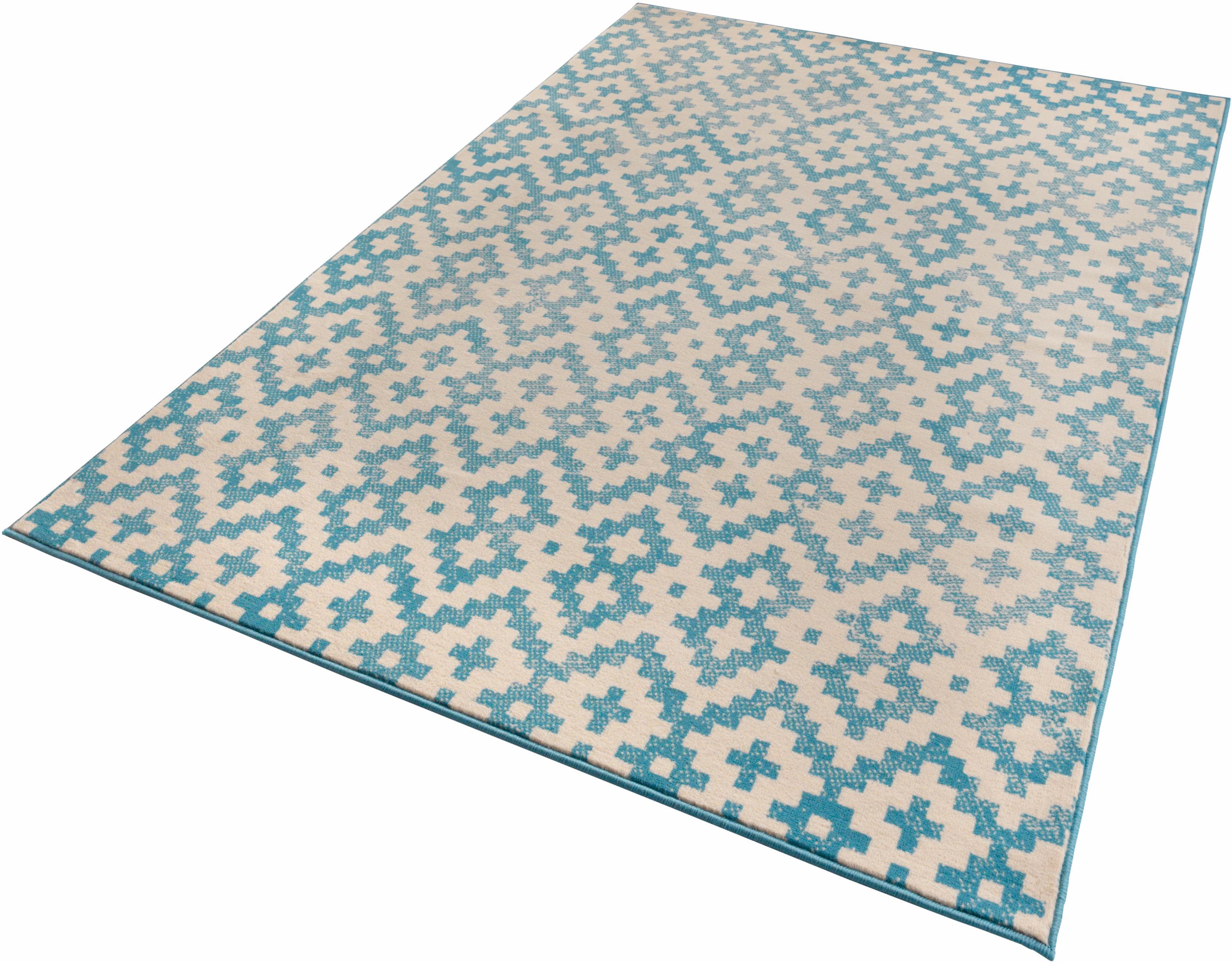 Teppich Duo Zala Living rechteckig Höhe 9 mm maschinell gewebt