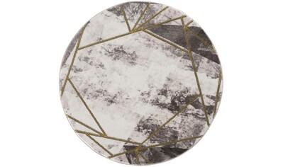 Carpet City Teppich »Noa 9294«, rund, 11 mm Höhe, Wohnzimmer kaufen