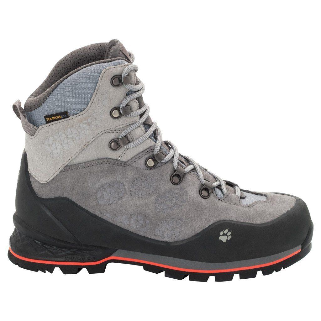 Jack Wolfskin Trekkingschuh WILDERNESS TEXAPORE MID W | Schuhe > Outdoorschuhe > Trekkingschuhe | Grau | Wo | Jack Wolfskin
