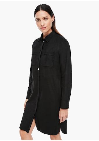s.Oliver BLACK LABEL Hemdblusenkleid kaufen