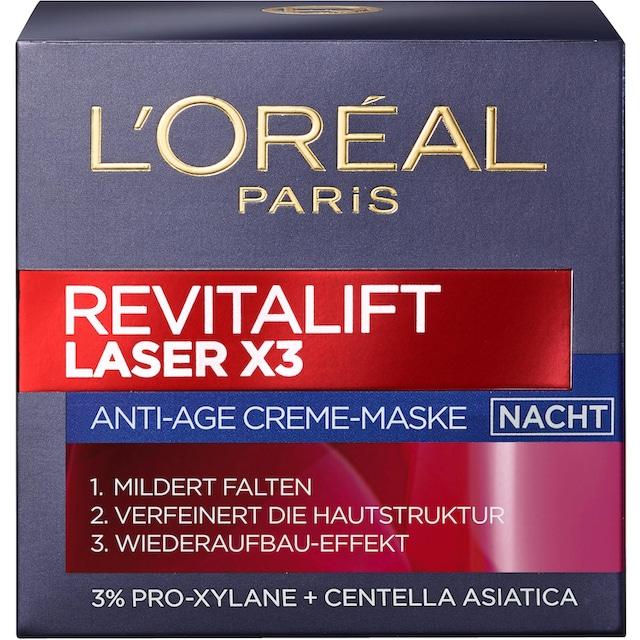 """L'ORÉAL PARIS Nachtcreme """"RevitaLift Laser X3 Nachtpflege"""""""
