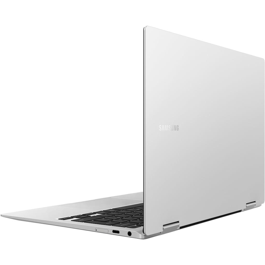 "Samsung Convertible Notebook »Galaxy Book Pro 360 5G«, (33,78 cm/13,3 "" Intel Core i7 Iris© Xe Graphics\r\n 256 GB SSD), Kostenloses Upgrade auf Windows 11, sobald verfügbar"