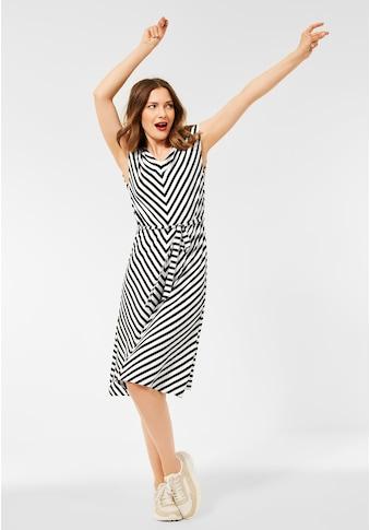 STREET ONE Sommerkleid, mit Bindegürtel zum Taillieren kaufen