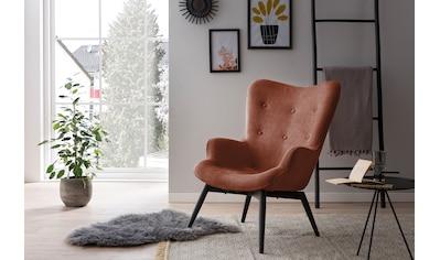 SalesFever Loungesessel, Zierknöpfe in Sitz und Rücken kaufen