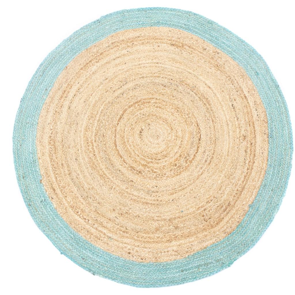 morgenland Teppich »Sisalteppich Teppich Bonifant«, rund, 6 mm Höhe