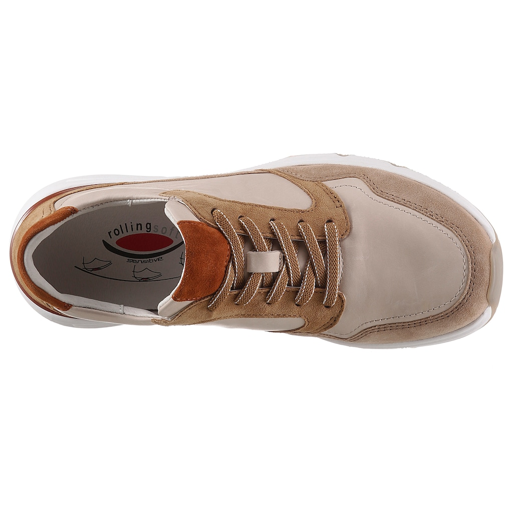 Gabor Rollingsoft Keilsneaker, mit Kontrastbesätzen