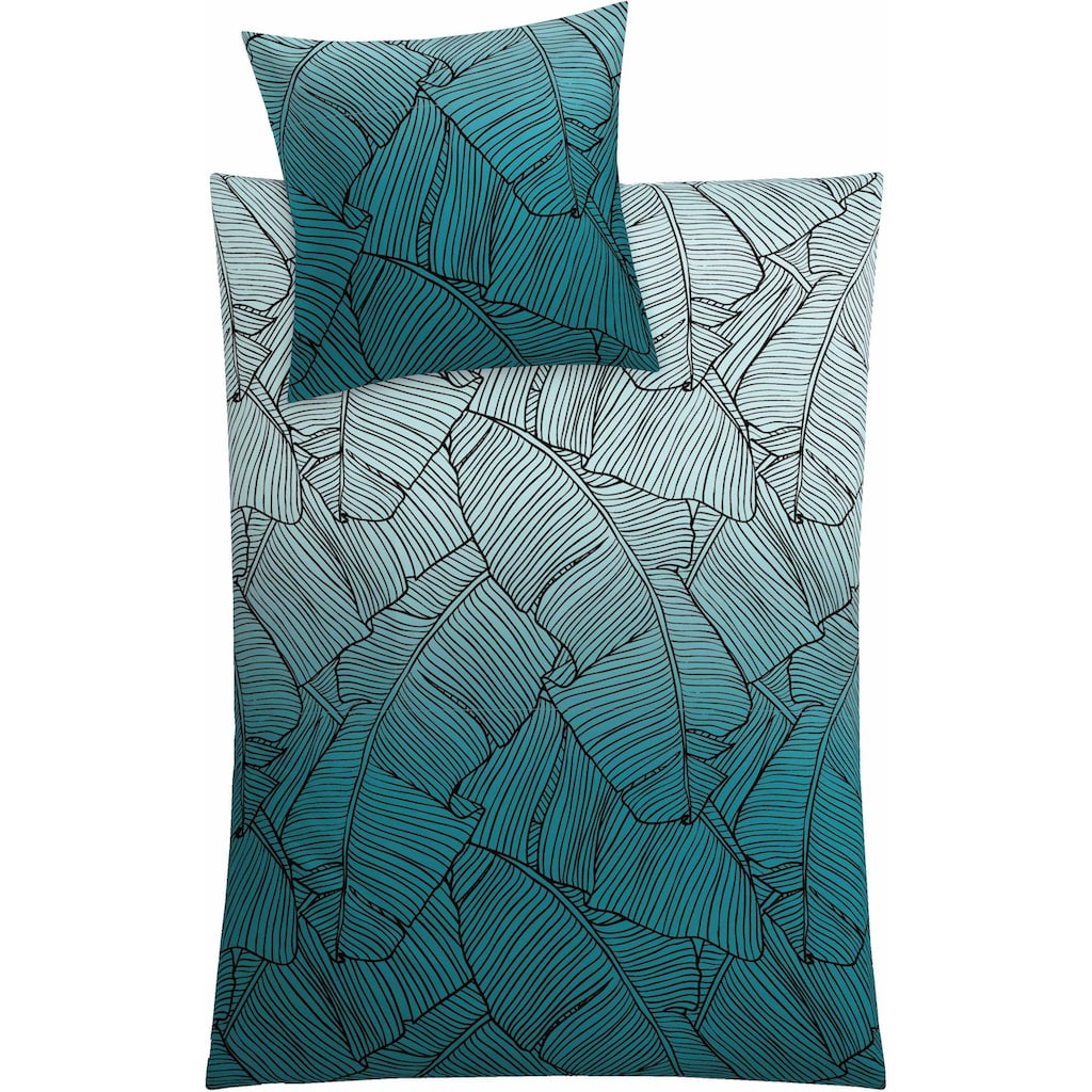 Kleine Wolke Bettwäsche »Vero«, mit Palmenblattmuster