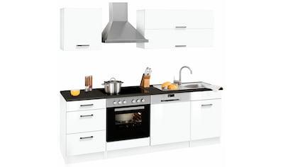 HELD MÖBEL Küchenzeile »Graz«, ohne E - Geräte, Breite 220 cm kaufen