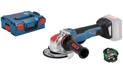 Bosch Professional Akku-Winkelschleifer »GWX 18V-10 PSC (L) solo CLC« kaufen