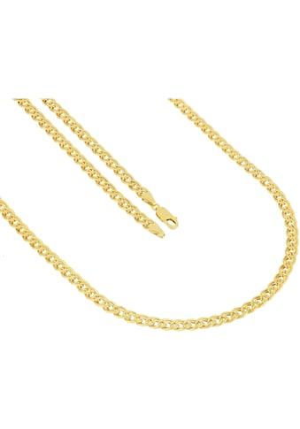 Firetti Goldkette »Doppelpanzerkettengliederung, 5 mm breit, glanz« kaufen