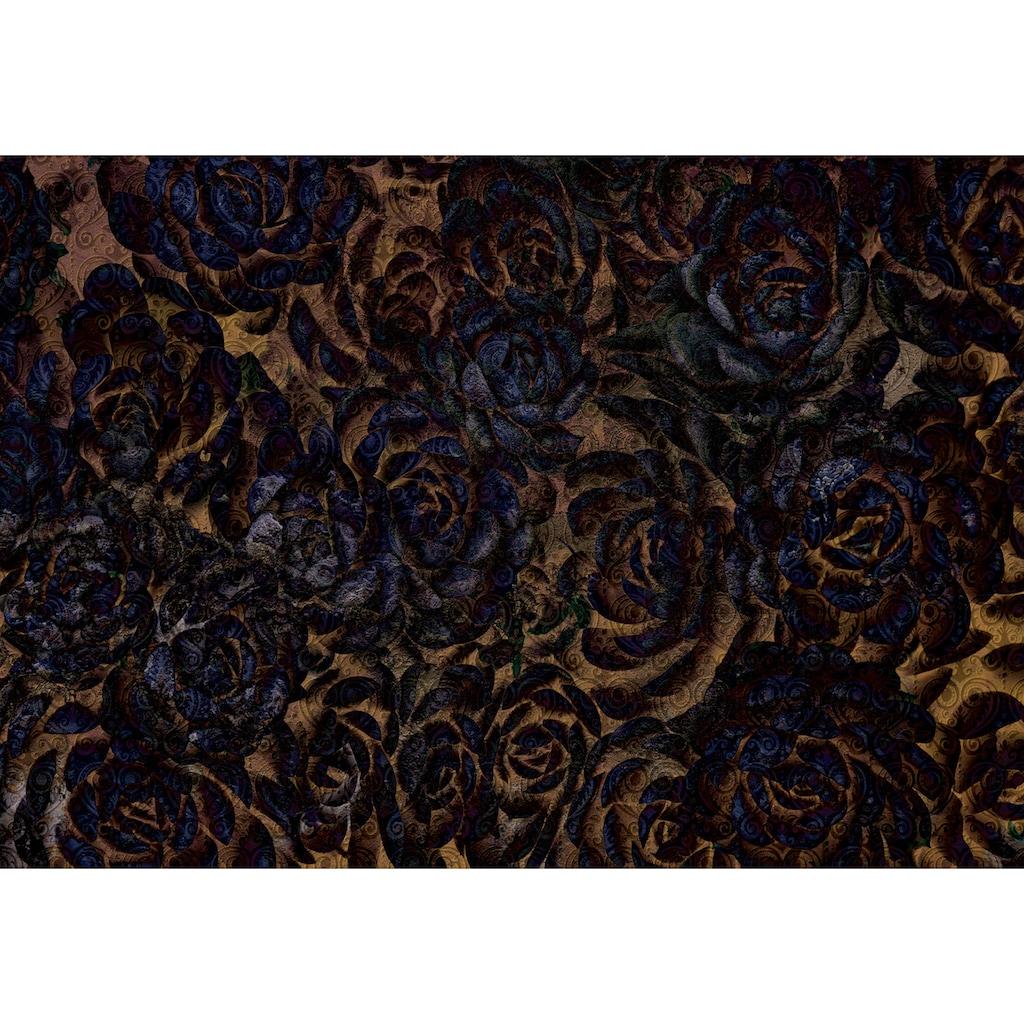 Consalnet Vliestapete »Dunkle Blumen«, floral