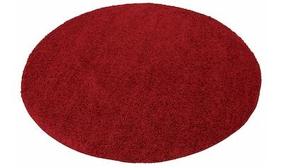 Hochflor - Teppich, »Bodrum«, my home, rund, Höhe 30 mm, maschinell gewebt kaufen