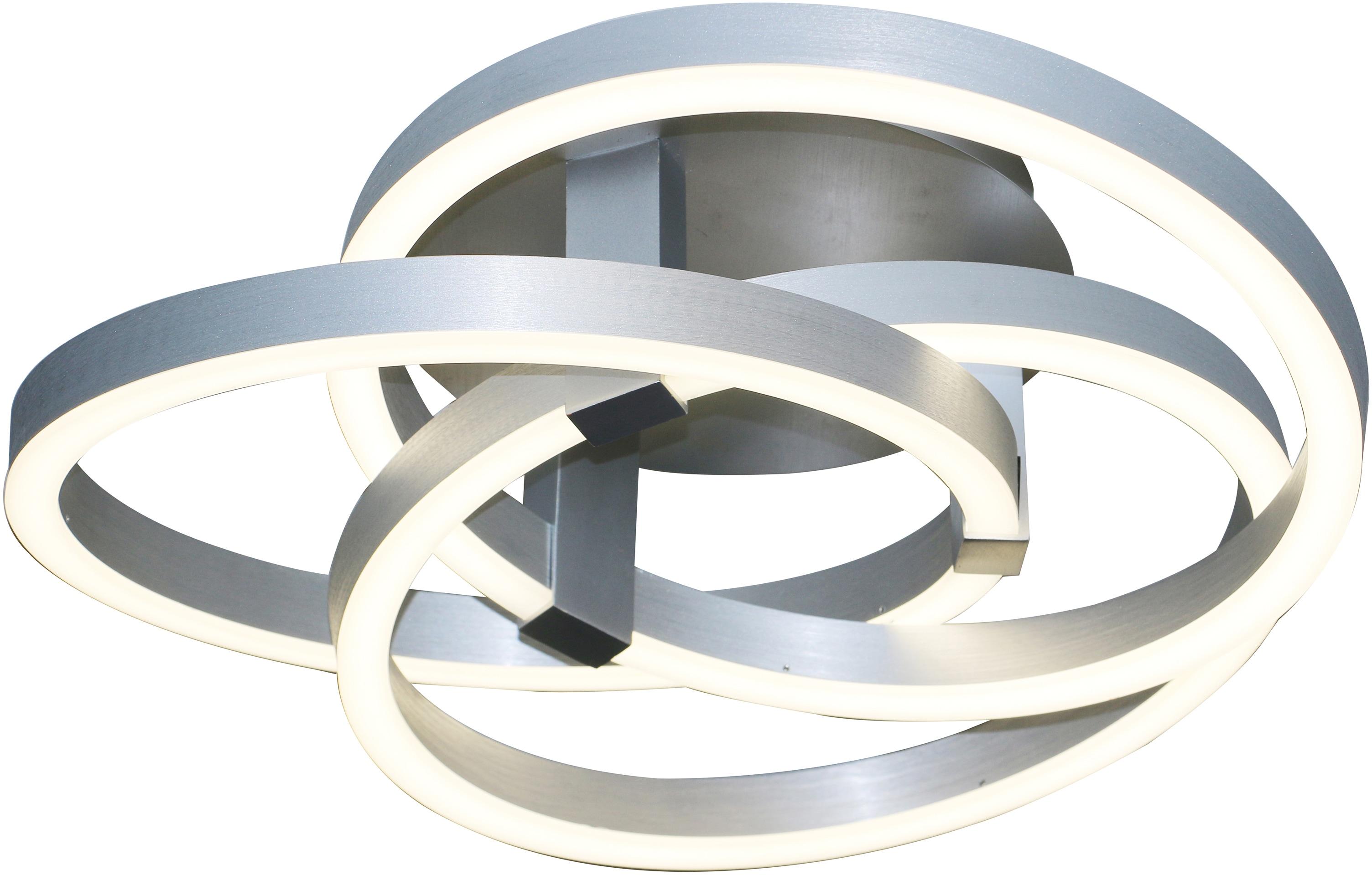 näve LED Deckenleuchte Divora, LED-Board, Kaltweiß-Neutralweiß, LED Deckenlampe