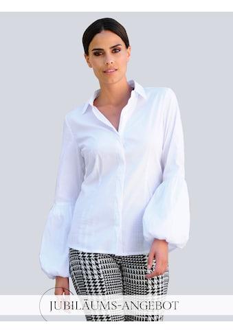 Alba Moda Klassische Bluse, mit modischer Ärmelform kaufen