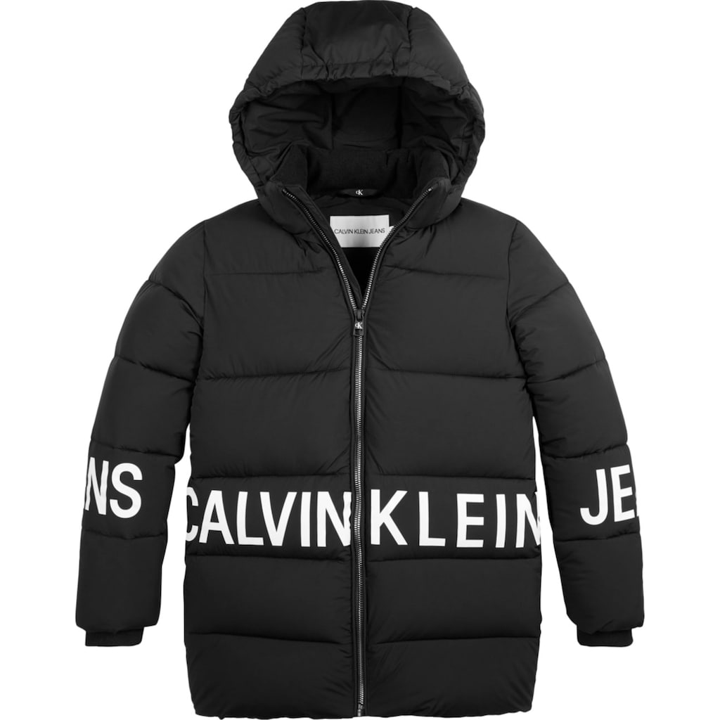 Calvin Klein Jeans Steppjacke »STRETCH LOGO PUFFER JACK«