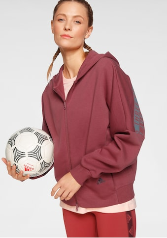 adidas Performance Sweatjacke »3 - STREIFEN WORDING KAPUZENJACKE« kaufen